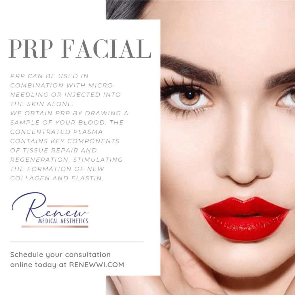 PRP facial image 1