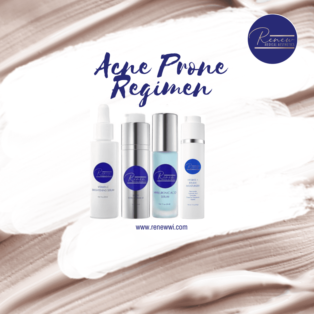 acne prone regimen